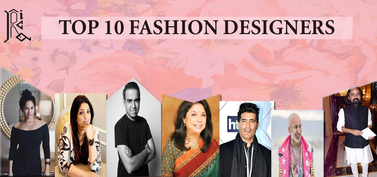Top 10 Indian Fashion Designers Ruchi S Institute Of Creative Arts