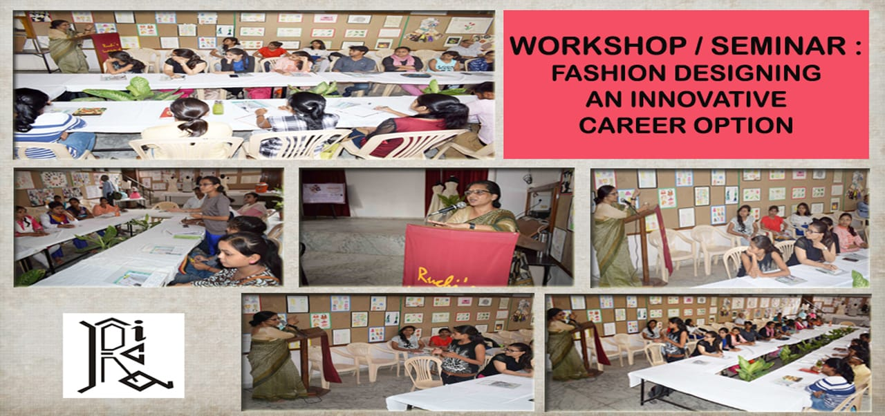 Seminar: Fashion Design: An Innovative Career Option