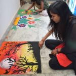 Rangoli Competition (2)